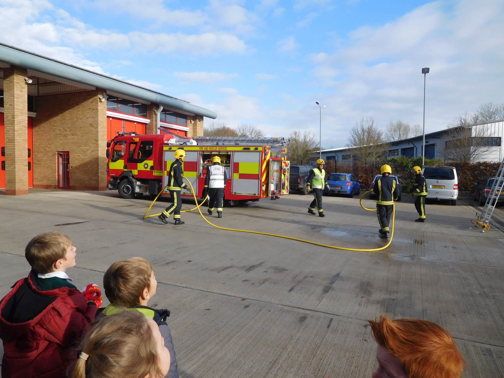 Yr 2 visit Aylesbury Fire Station